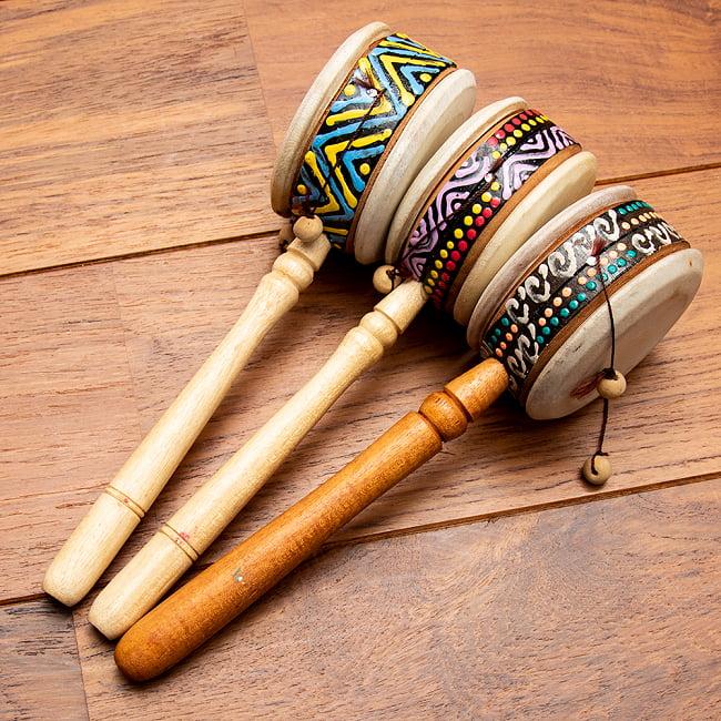 インドネシアのでんでん太鼓の選択用写真
