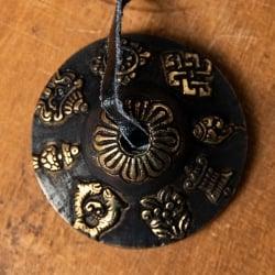 カラーディンシャ〔約5.8cm〕 - ブラックの個別写真