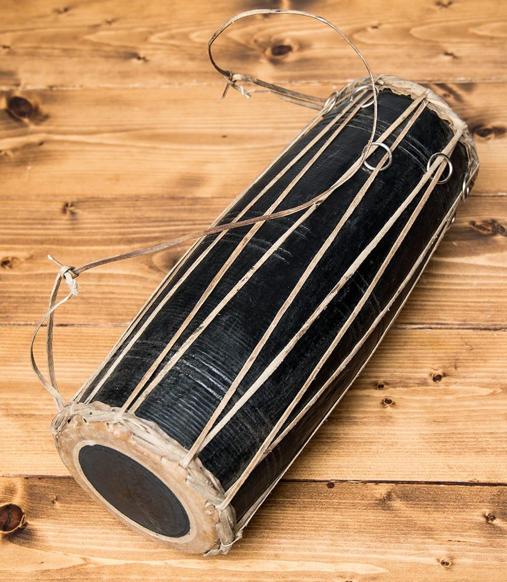 ネパールの民族打楽器 マダルの個別写真