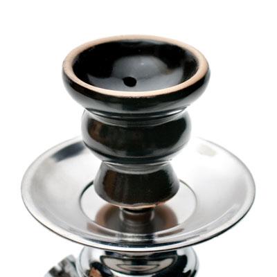 シーシャ(水タバコ)黒 【約31cm】の個別写真