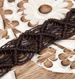 シンプル マクラメ編みブレスレットの選択用写真