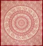 マルチクロス - 円形 象【約205cm×約230cm】の個別写真