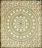 マルチクロス - 円形 象【約200cm×約230cm】の個別写真