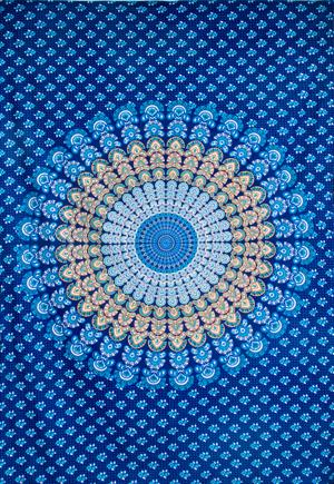 マルチクロス- マンダラ【約205cm×約135cm】の個別写真