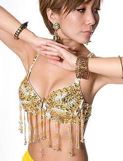 ベリーダンス衣装 スカート・ブラ 上下セットの選択用写真