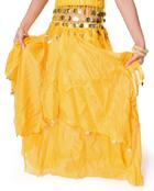 ベリーダンス コイン付きふんわりシフォンスカートの選択用写真