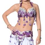 ベリーダンス衣装 ブラ&ベルトセットの個別写真