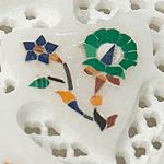【ハート型】マーブルストーンの小物入れ[約7.5cm]の個別写真