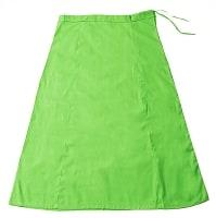 サリーの下に着るペチコート - ライトグリーンの個別写真