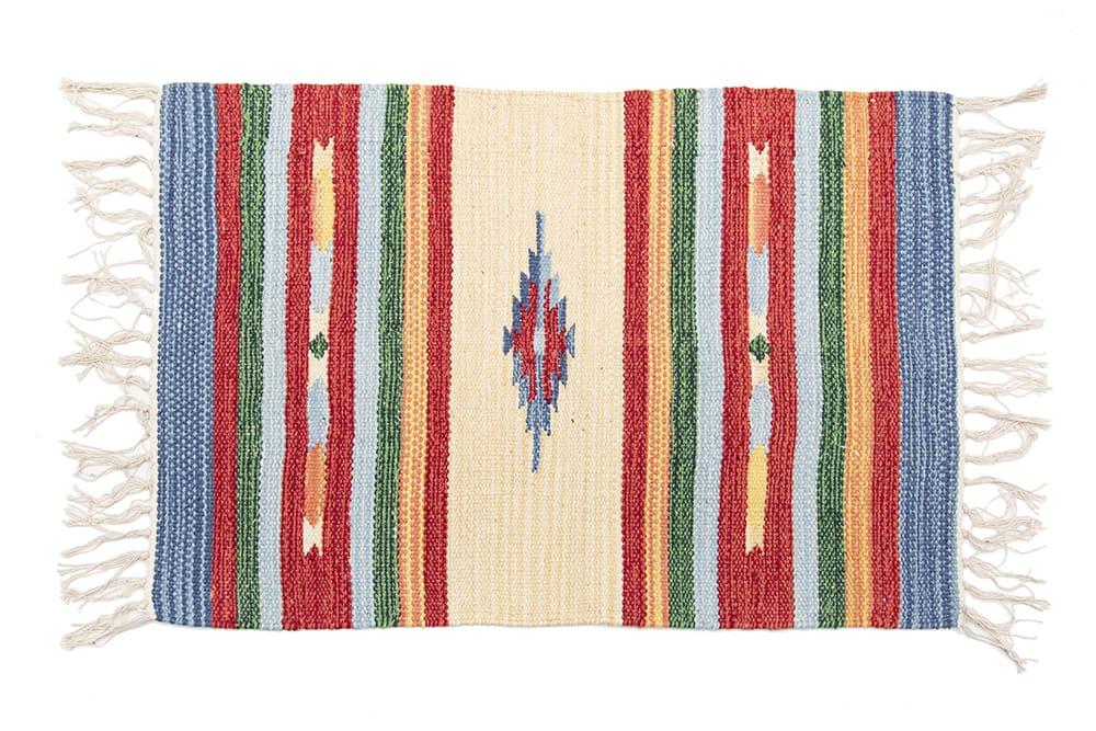 インドのキリムラグ【約60cm×約40cm】の個別写真