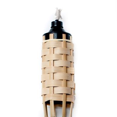[150cm]バンブートーチ・キャンプなどのアウトドアへ!竹製のたいまつの個別写真