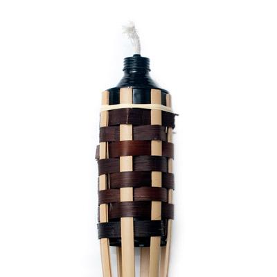 [150cm]バンブートーチ キャンプなどのアウトドアへ!竹製のたいまつの個別写真