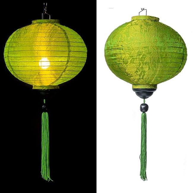 ベトナム伝統のホイアン・ランタン(提灯) - 丸型 大 コイルタイプの選択用写真