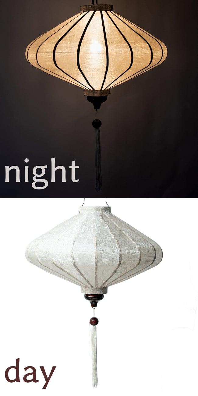 ベトナム伝統のホイアン・ランタン(提灯) - 薄ひし形(大)の選択用写真