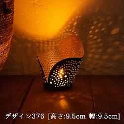 幾何学模様の透かし彫り キャンドルホルダーSサイズの選択用写真