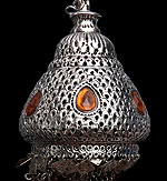 壁掛 - クラゲ風ハーレムランプ【50cm】の個別写真