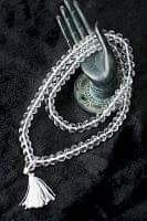 インドの数珠 - クリスタル