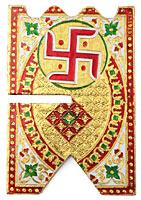 ヒンドゥー教の書見台-小【スワスティカ】の選択用写真