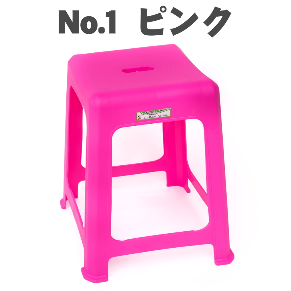 本場タイの屋台椅子 重ね収納OK! テラスなど屋外で使えるスタッキングチェアの個別写真