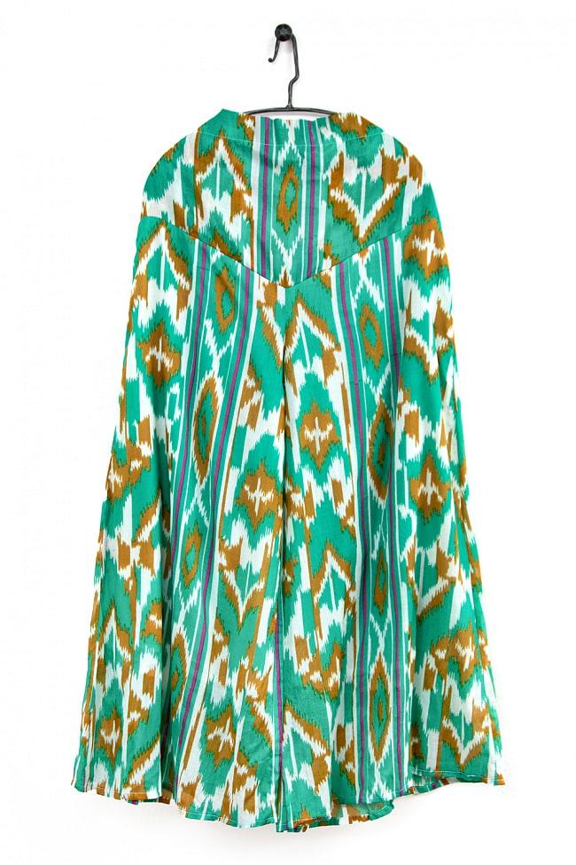 絣模様プリントのコットンワイドパンツの選択用写真