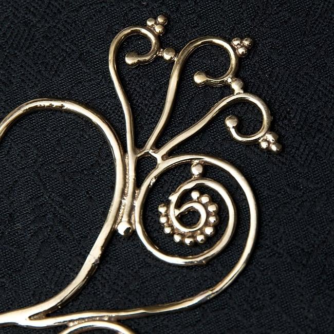 〔両耳ペア〕ゴールデンイヤーカフ【ピーコック】2-ゴールドが美しいですね!\