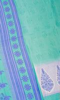 インドサリー【花・ペイズリー】 全4色の個別写真