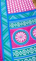 インドサリー【幾何学】 全4色の個別写真