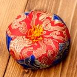 シンギングボウル用マット(10cm)【赤と青】の個別写真