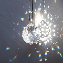 太陽の光を集めるクリスタル サンキャッチャー [4cm]