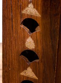 シーシャムウッド タワー型お香立て - シヴァ【縦30.5cm】の個別写真