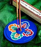 インド香&ネパール香立て 【直径約9cm】