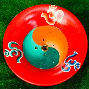 杯型のインド香&ネパール香立て(大)【直径約9cm】の選択用写真