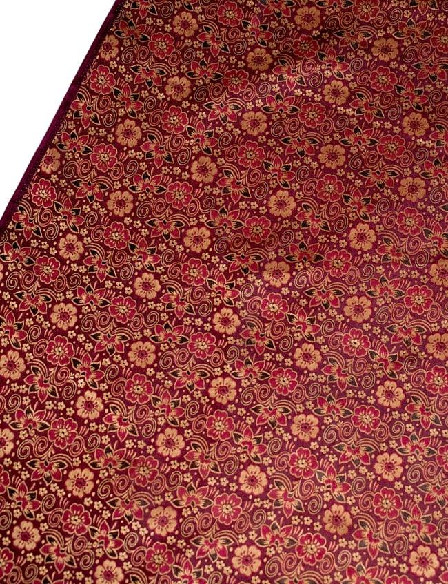 〔1m切り売り〕インドの伝統模様布〔114cm〕 - あずきの写真