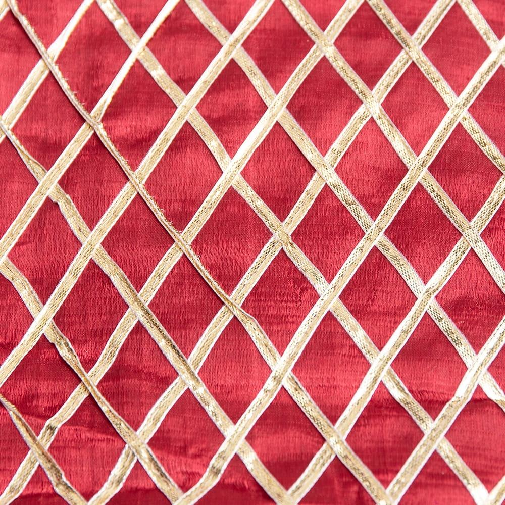〔1m切り売り〕インドの伝統模様布〔幅約105cm〕の個別写真