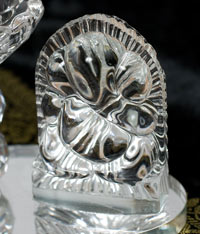 ガネーシャのグラスキャンドルスタンドの個別写真