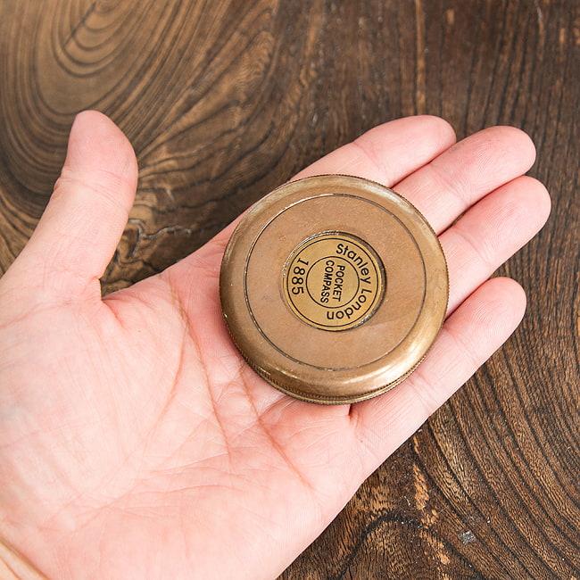 【直径約5.7cm】大英帝国時代のアンティークコンパス - Robert Frostの選択用写真