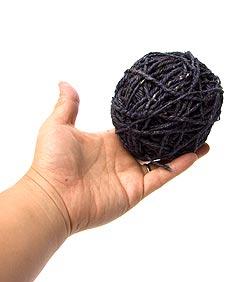 カラーヘンプボール-紺の写真3
