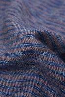 ふんわり起毛のライトスヌード - 青系の個別写真