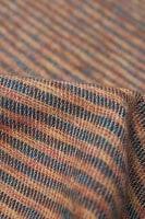 ふんわり起毛のライトスヌード - オレンジ&緑系の個別写真