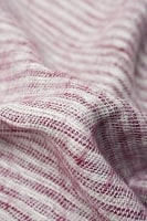 ふんわり起毛のライトスヌード - 白&赤系の個別写真