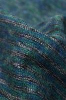 ふんわり起毛のライトスヌード - グリーン系の個別写真