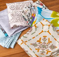 オールドサリーのスカーフ 約50cm×約50cmの選択用写真