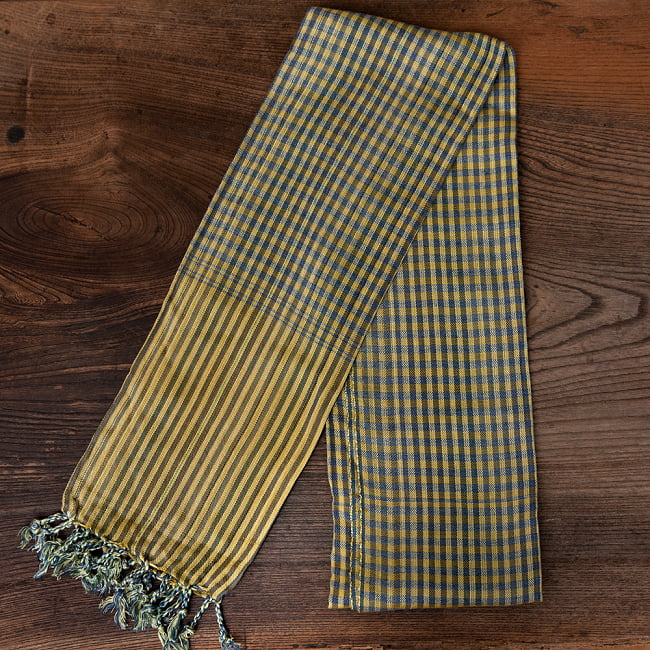 カンボジアからやってきた万能布 クロマーSサイズ【約40cm×130-160cm】の選択用写真
