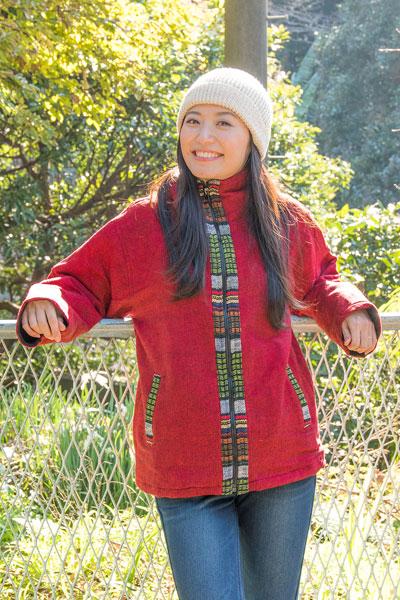 ネパールのゲリラインジャケットの個別写真