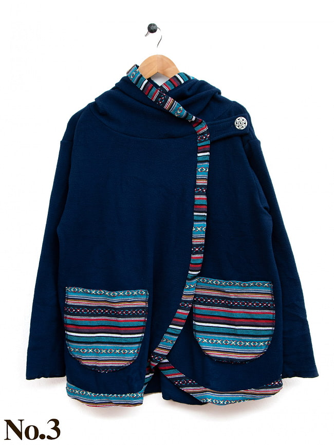 ネパールゲリラインのフリースジャケットの選択用写真