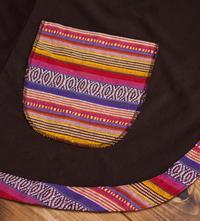 ネパールゲリラインのフリースジャケットの個別写真
