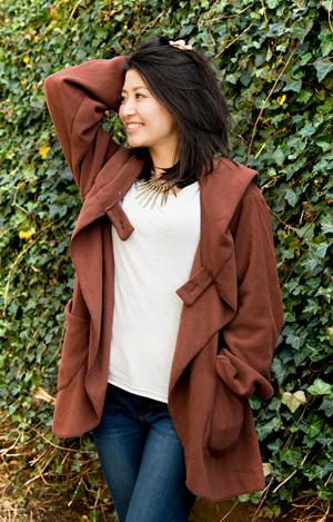 7CHAKRAのフリースジャケット の個別写真