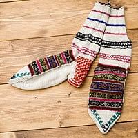 マナリの靴下 - ウール