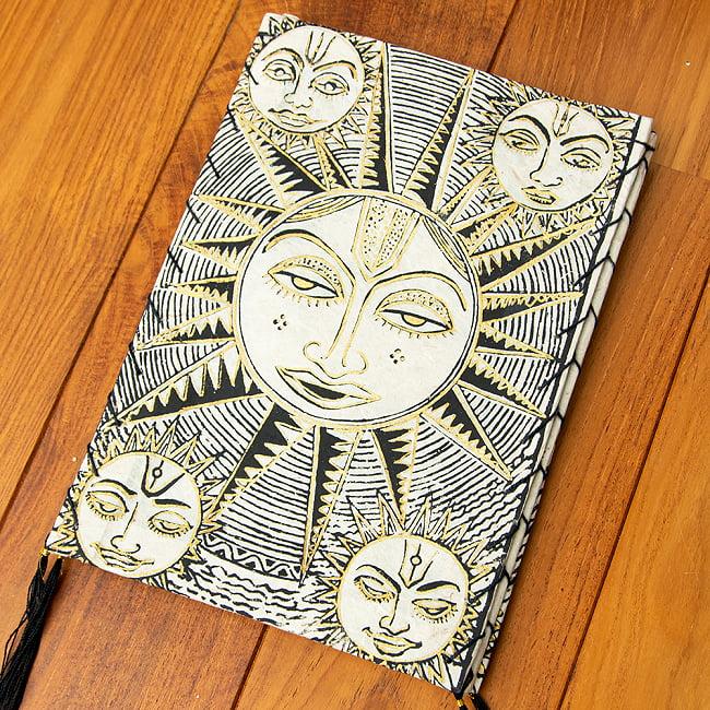 ロクタ紙 四面ランプシェード - スーリャの選択用写真