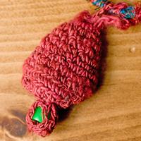 鈴つき きのこネックレスの個別写真
